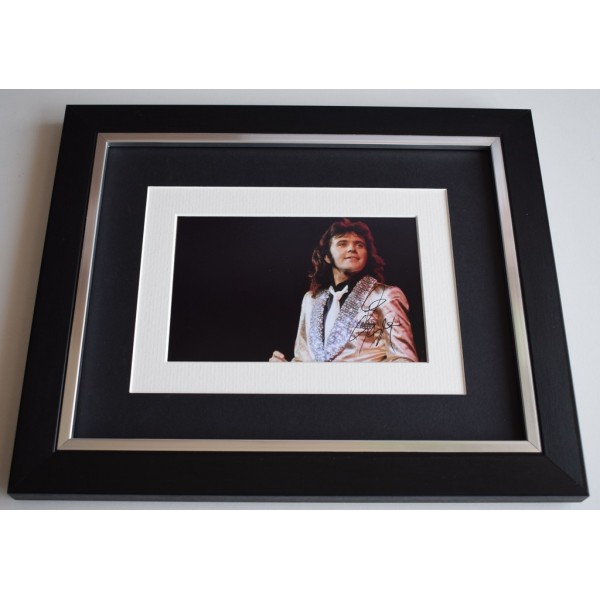 David Essex SIGNED 10x8 FRAMED Photo Autograph Display Music  AFTAL  COA Memorabilia PERFECT GIFT