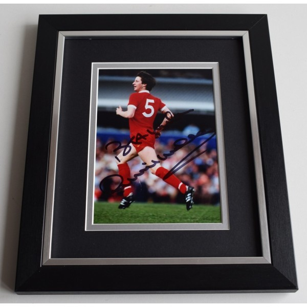 Ronnie Whelan SIGNED 10X8 FRAMED Photo Autograph Liverpool AFTAL & COA Memorabilia PERFECT GIFT