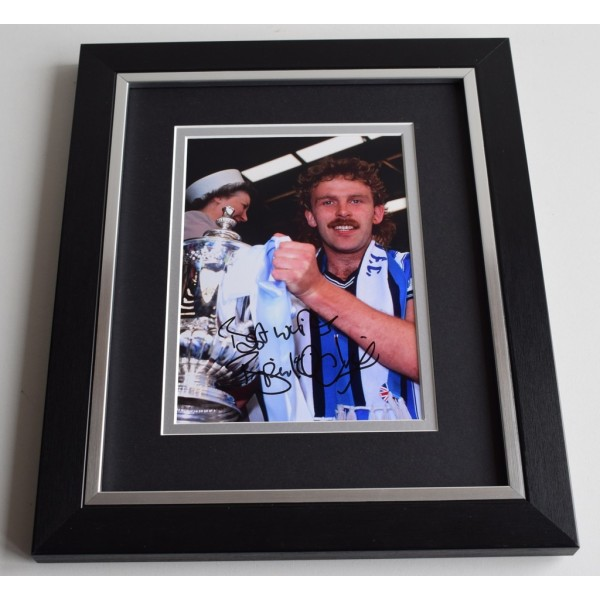 Brian Kilcline SIGNED 10X8 FRAMED Photo Autograph Coventry City AFTAL & COA Memorabilia PERFECT GIFT