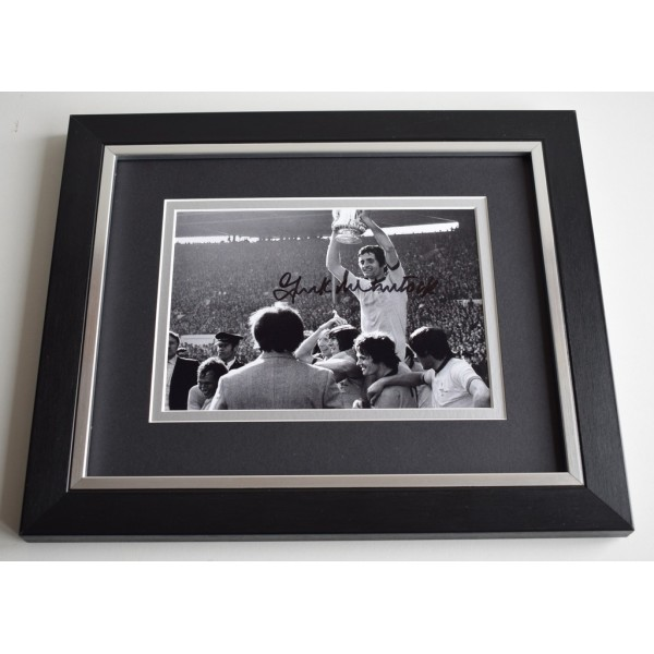 Frank McLintock SIGNED 10X8 FRAMED Photo Autograph Arsenal AFTAL & COA Memorabilia PERFECT GIFT
