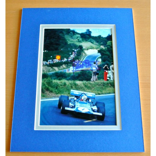 JACKIE STEWART HAND SIGNED AUTOGRAPH 10X8 PHOTO DISPLAY MOUNT FORMULA ONE F1 COA    PERFECT GIFT