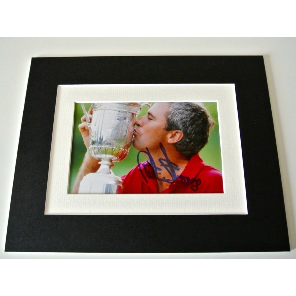 Curtis Strange Signed Autograph 10x8 photo mount display Golf Sport & COA         CLEARANCE