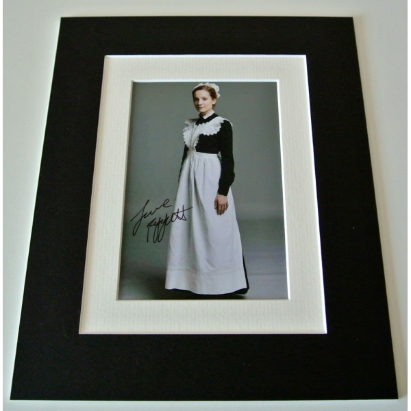 Joanne Froggatt Signed Autograph 10x8 photo mount display Downton Abbey TV COA       PERFECT GIFT