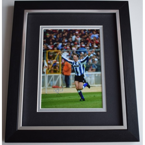 John Sheridan SIGNED 10x8 FRAMED Photo Autograph Display Sheffield Wednesday  AFTAL  COA Memorabilia PERFECT GIFT