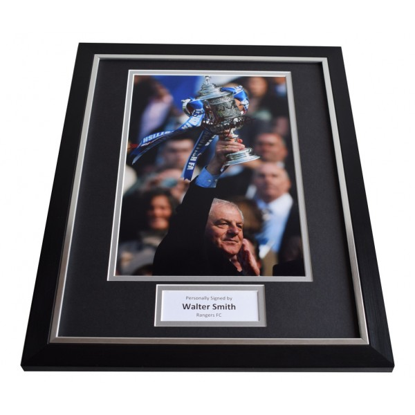 Walter Smith SIGNED FRAMED Photo Autograph 16x12 display Rangers   AFTAL & COA Memorabilia PERFECT GIFT