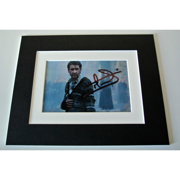 Matthew Lewis Signed Autograph 10x8 photo mount display Harry Potter Film & COA  PERFECT GIFT