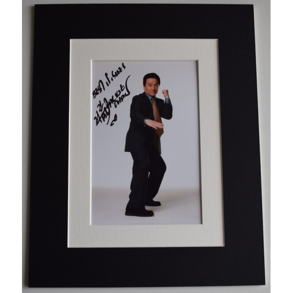 Jackie Chan Signed Autograph 10x8 photo display karate Film AFTAL  COA Memorabilia PERFECT GIFT
