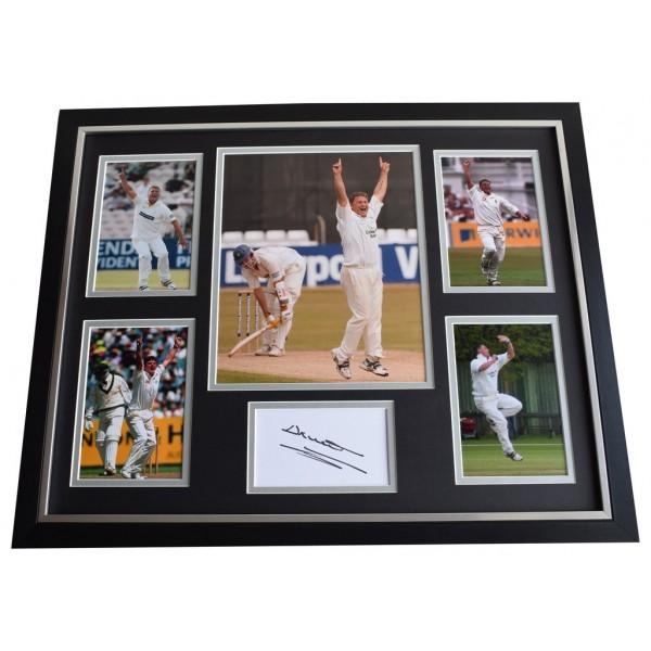 Darren Gough SIGNED Framed Photo Autograph Huge display England Sport   AFTAL & COA Memorabilia PERFECT GIFT