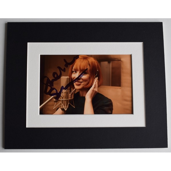 Sheridan Smith Signed Autograph 10x8 photo display Cilla Black TV    AFTAL  COA Memorabilia PERFECT GIFT