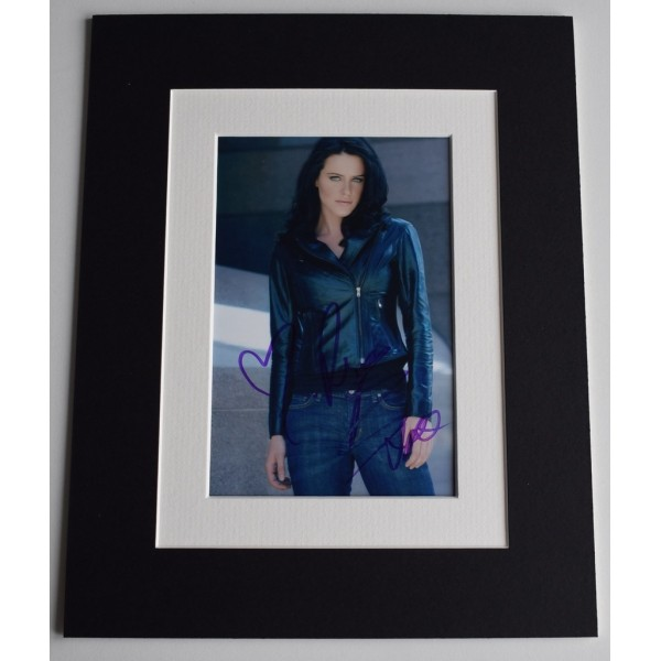 Michelle Ryan Signed Autograph 10x8 photo display Doctor Who TV     AFTAL  COA Memorabilia PERFECT GIFT