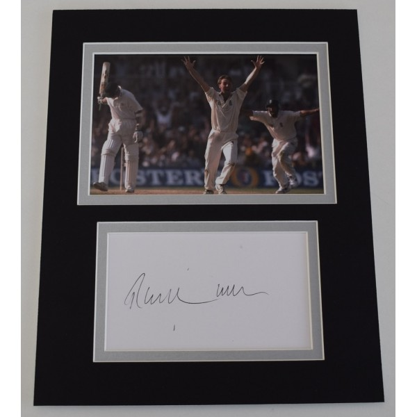 Phil Tufnell Signed Autograph 10x8 photo mount display England Cricket  AFTAL  COA Memorabilia PERFECT GIFT