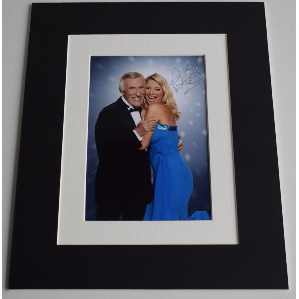 Bruce Forsyth Signed Autograph 10x8 photo display Strictly Dancing TV  AFTAL & COA Memorabilia PERFECT GIFT