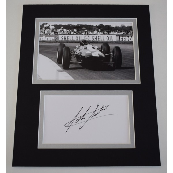 John Surtees Signed Autograph 10x8 photo display Superbikes Racing AFTAL  COA Memorabilia PERFECT GIFT