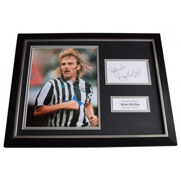 Brian Kilcline SIGNED FRAMED Photo Autograph 16x12 display Newcastle United   AFTAL  COA Memorabilia PERFECT GIFT
