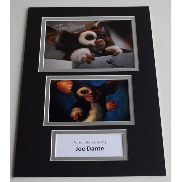 Joe Dante Signed Autograph A4 photo mount display Gremlins  AFTAL & COA Memorabilia PERFECT GIFT