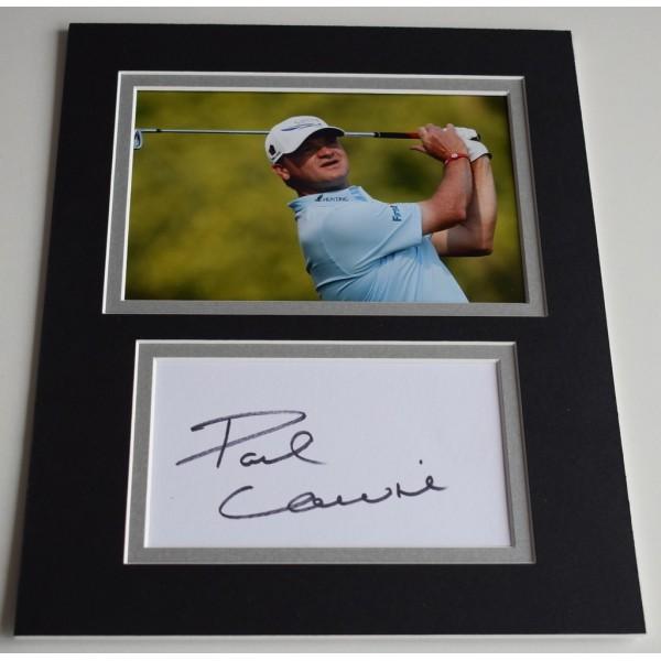 Paul Lawrie Signed Autograph 10x8 photo display Golf Sport  AFTAL  COA Memorabilia PERFECT GIFT