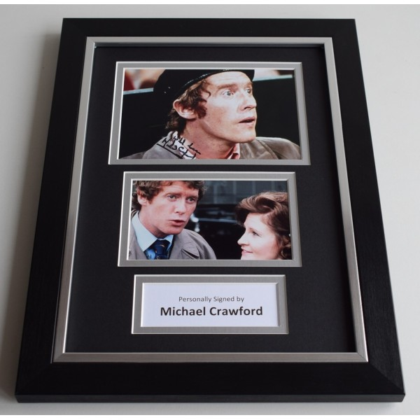 Michael Crawford Signed A4 FRAMED photo Autograph display Some Mothers Do Ave Em   AFTAL & COA Memorabilia PERFECT GIFT