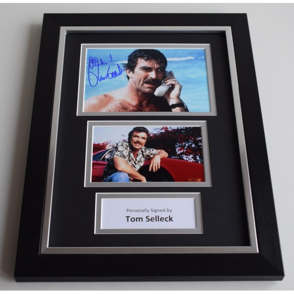 Tom Selleck Signed A4 FRAMED photo Autograph display Magnum  AFTAL & COA Memorabilia PERFECT GIFT