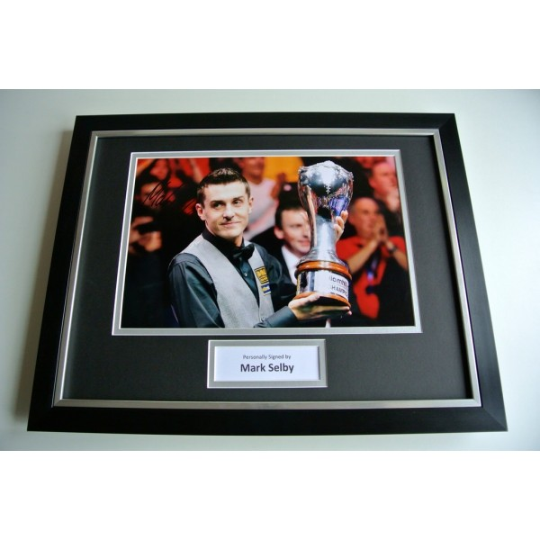 Mark Selby SIGNED FRAMED Photo Autograph 16x12 display Snooker Memorabilia & COA PERFECT GIFT
