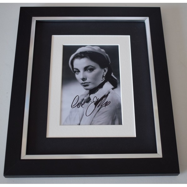 Joan Collins SIGNED 10x8 FRAMED Photo Autograph Display TV Film  AFTAL  COA Memorabilia PERFECT GIFT