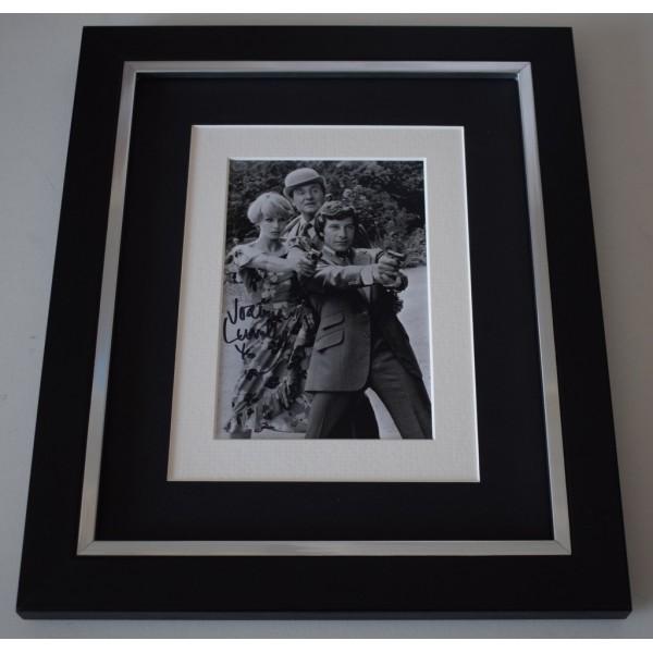 Joanna Lumley SIGNED 10x8 FRAMED Photo Autograph Display TV Avengers  AFTAL  COA Memorabilia PERFECT GIFT