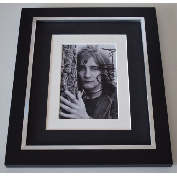 Rod Stewart SIGNED 10x8 FRAMED Photo Autograph Display Baby Jane Music    AFTAL  COA Memorabilia PERFECT GIFT