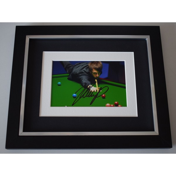 Judd Trump SIGNED 10x8 FRAMED Photo Autograph Display Snooker Sport AFTAL  COA Memorabilia PERFECT GIFT