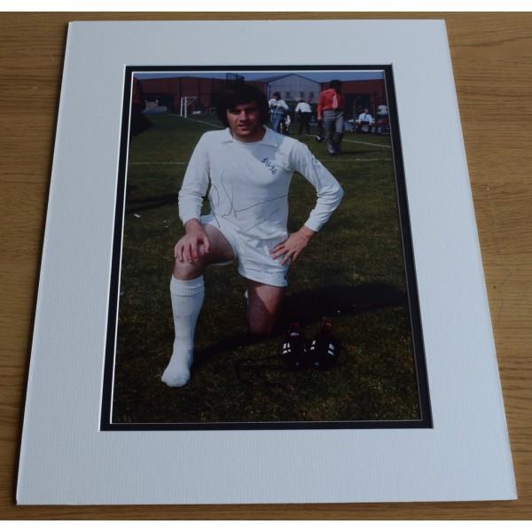 Peter Lorimer SIGNED autograph 16x12 LARGE photo display Leeds United AFTAL & COA Memorabilia PERFECT GIFT