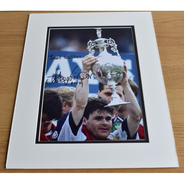 Anders Limpar SIGNED autograph 16x12 LARGE photo display Arsenal  AFTAL & COA Memorabilia PERFECT GIFT