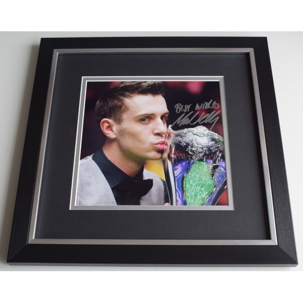 Mark Selby SIGNED Framed LARGE Square Photo Autograph display Snooker  AFTAL  COA Memorabilia PERFECT GIFT