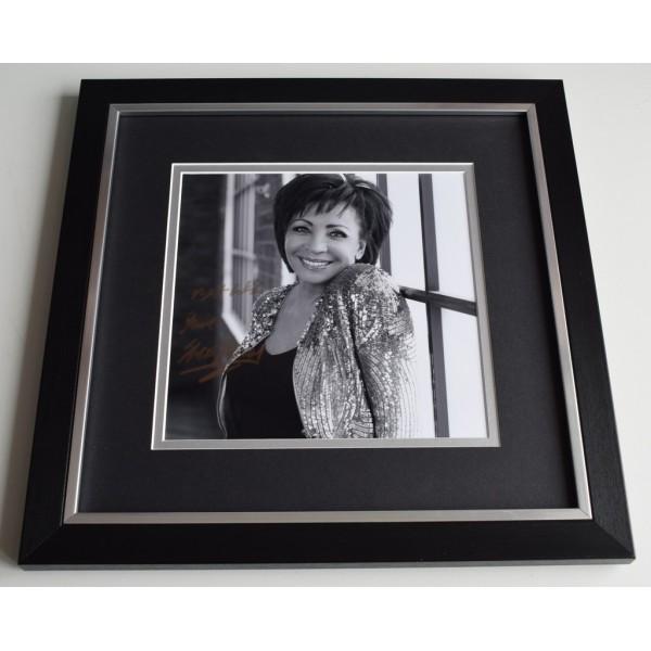 Shirley Bassey SIGNED Framed LARGE Square Photo Autograph display James Bond AFTAL  COA Memorabilia PERFECT GIFT