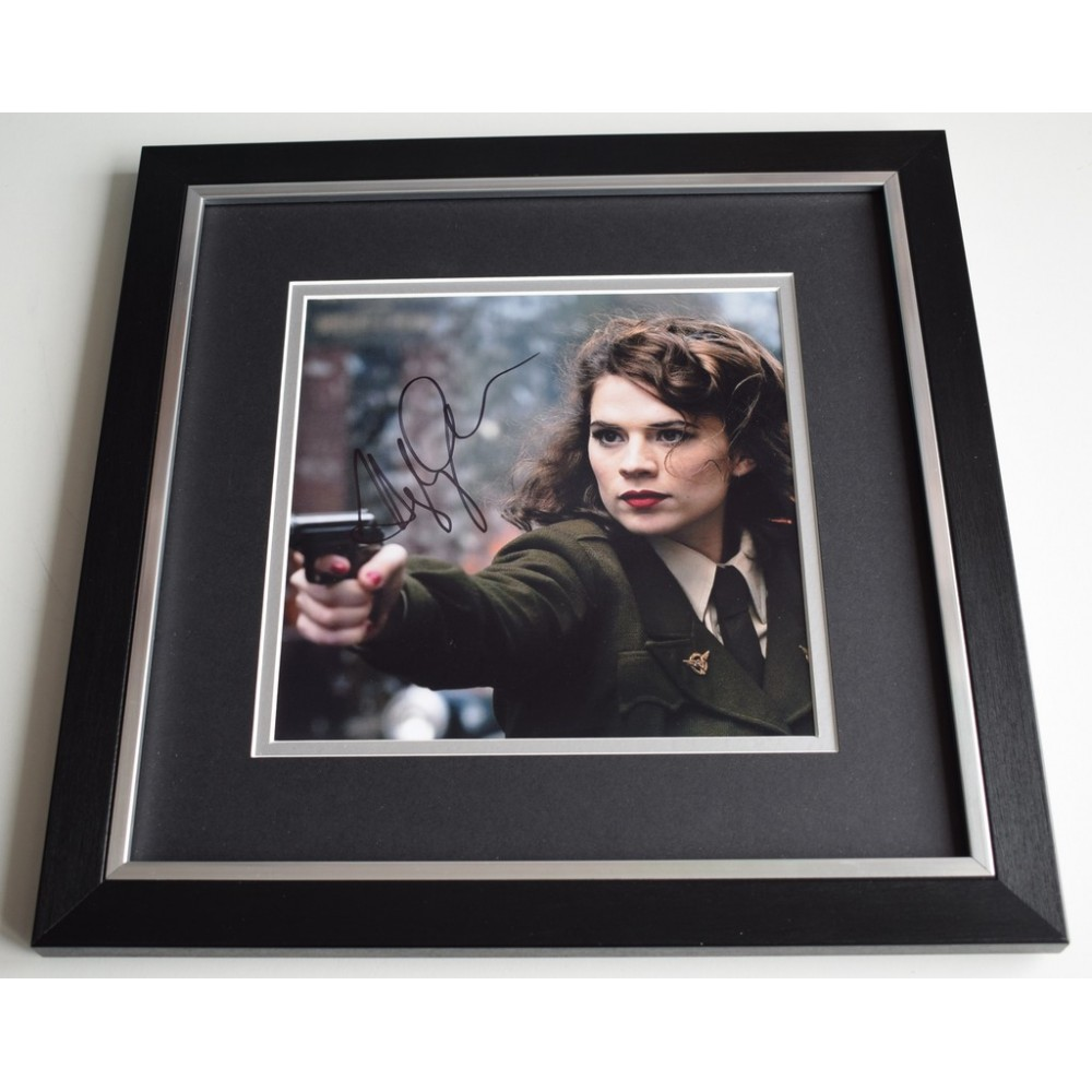 Hayley Atwell Signed Captain America Peggy Carter Photo W/ Hologram Coa Television