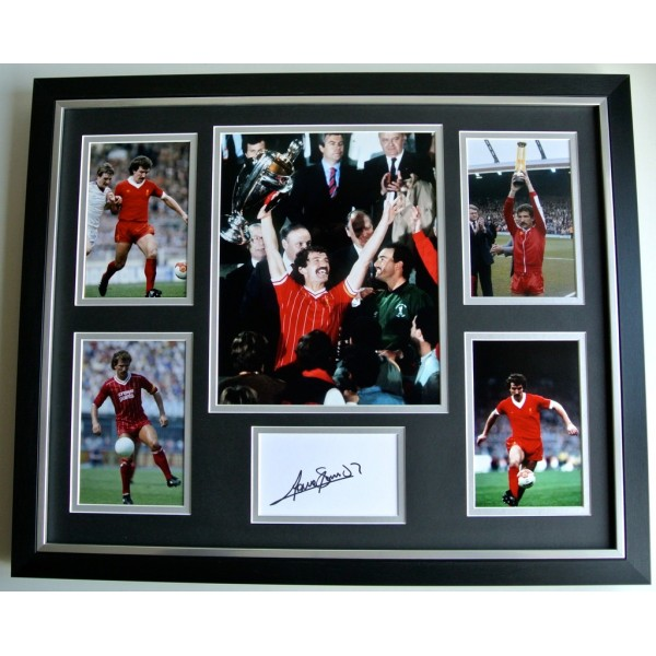 Graeme Souness SIGNED FRAMED Photo Autograph Huge display Liverpool LFC & COA  PERFECT GIFT