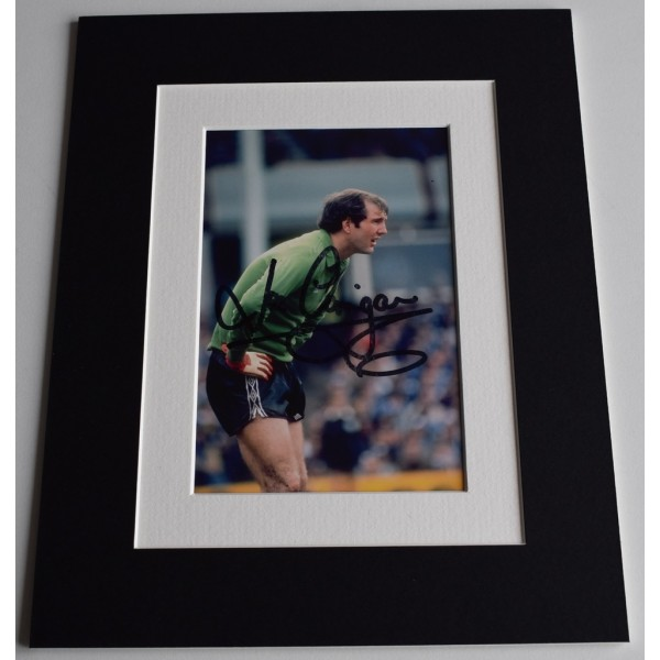Joe Corrigan Signed Autograph 10x8 photo display Manchester City Football AFTAL  COA Memorabilia