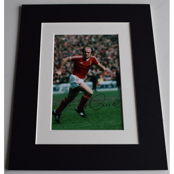 Archie Gemmill Signed Autograph 10x8 photo display Nottingham Forest AFTAL  COA Memorabilia