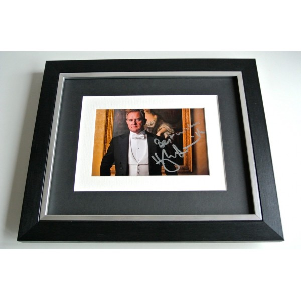 Hugh Bonneville SIGNED 10x8 FRAMED Photo Autograph Display Downton Abbey TV COA                 PERFECT GIFT