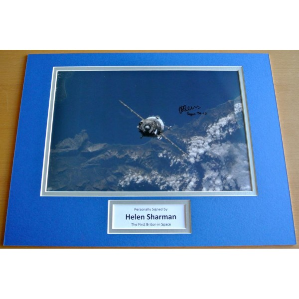 HELEN SHARMAN hand SIGNED autograph 16x12 photo mount display BRITON SPACE & COA           PERFECT GIFT
