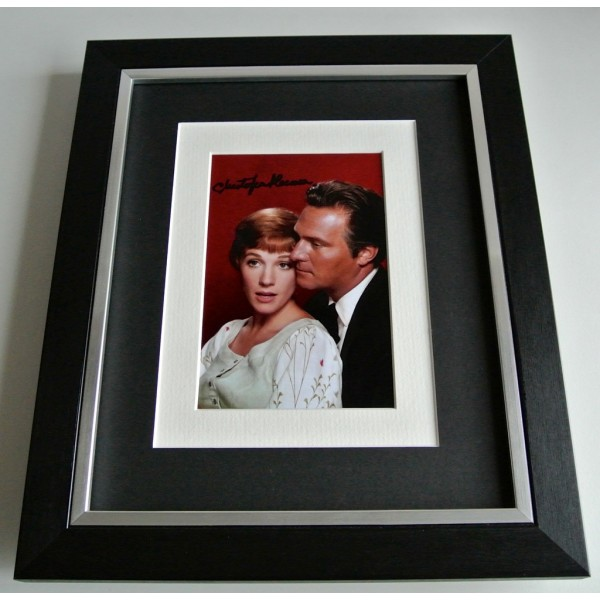 Christopher Plummer SIGNED 10x8 FRAMED Photo Autograph Display Sound Music COA                  PERFECT GIFT