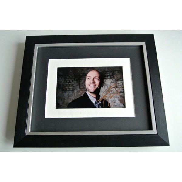 Derren Brown SIGNED 10x8 FRAMED Photo Autograph Display Infamous Magic TV & COA               PERFECT GIFT