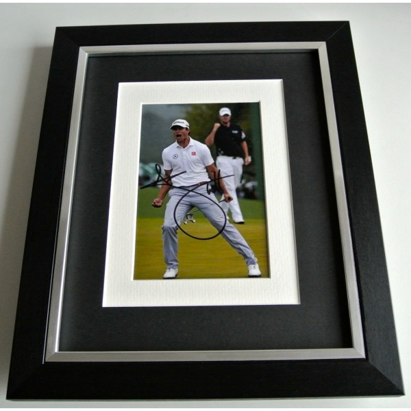 Adam Scott SIGNED 10x8 FRAMED Photo Autograph Display Golf Memorabilia & COA         PERFECT GIFT