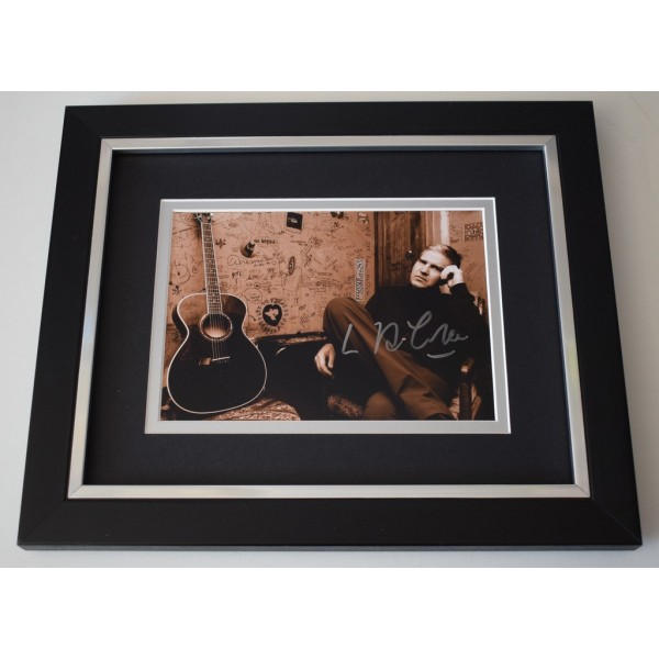 Lloyd Cole SIGNED 10x8 FRAMED Photo Autograph Display Music Commotions AFTAL  COA Memorabilia