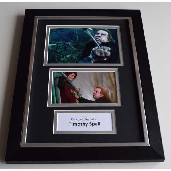 Timothy Spall Signed Autograph A4 FRAMED photo display Harry Potter AFTAL & COA Memorabilia PERFECT GIFT