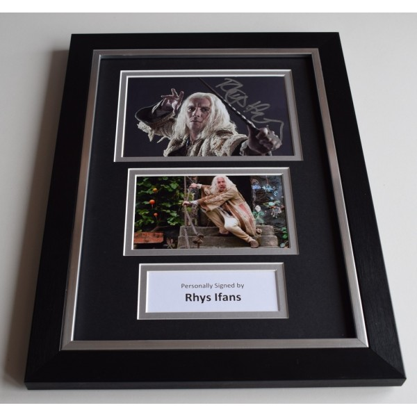 Rhys Ifans Signed Autograph A4 FRAMED photo display Harry Potter AFTAL & COA Memorabilia PERFECT GIFT
