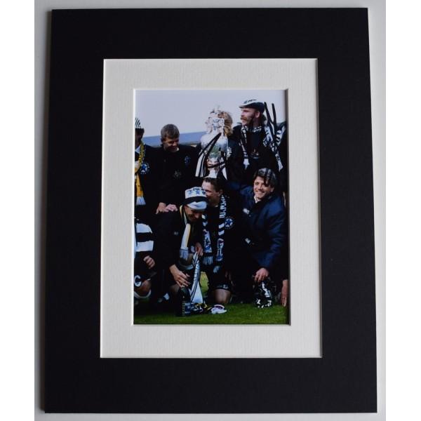 Brian Kilcline Signed Autograph 10x8 photo display Newcastle United Football AFTAL  COA Memorabilia PERFECT GIFT