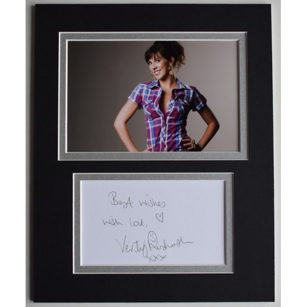 Verity Rushworth Authentic Memorabilia And Autographs