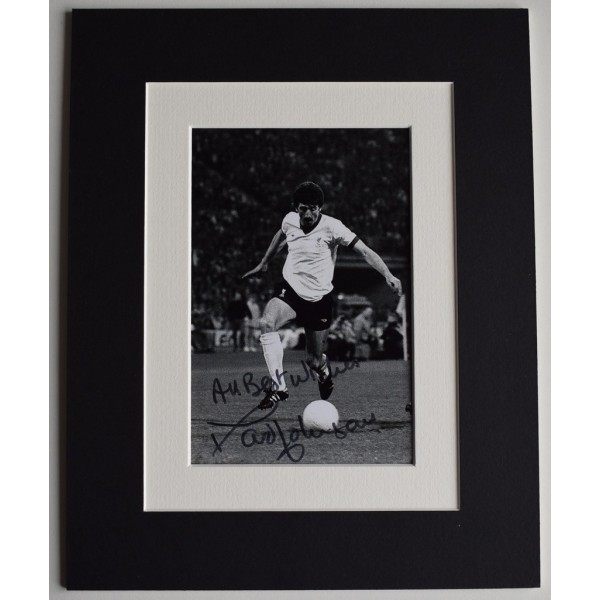 David Johnson Signed Autograph 10x8 photo display Liverpool Football AFTAL COA Memorabilia PERFECT GIFT