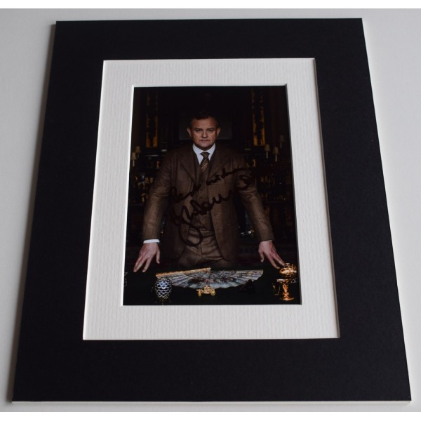Hugh Bonneville Signed Autograph 10x8 photo display Downton Abbey TV   AFTAL & COA Memorabilia PERFECT GIFT