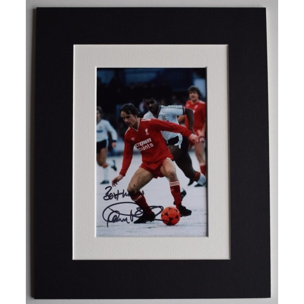 Paul Walsh Signed Autograph 10x8 photo display Liverpool Football  AFTAL  COA Memorabilia PERFECT GIFT