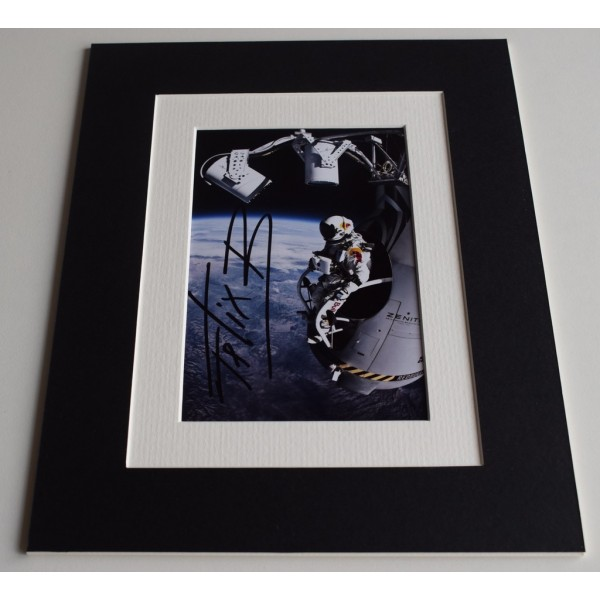 Felix Baumgartner Signed Autograph 10x8 photo display Space Jump  AFTAL & COA Memorabilia PERFECT GIFT