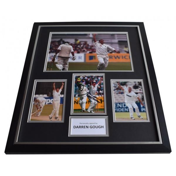 Darren Gough SIGNED Framed Photo Autograph Huge display Cricket AFTAL & COA Memorabilia PERFECT GIFT